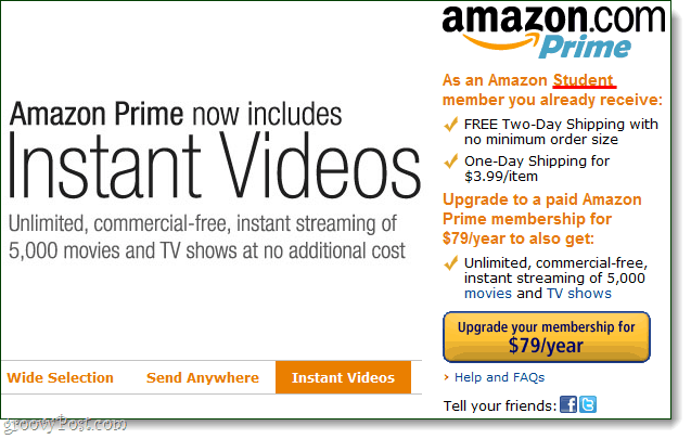 Amazon introducerer gratis streaming af 2000+ film og tv-shows til premierbrugere